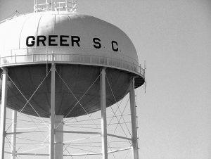 Greer Water Tower