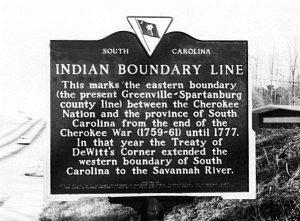 Indian boundary line