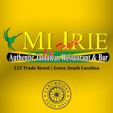 Mi Irie Yellow Square with Address & CFH Logo