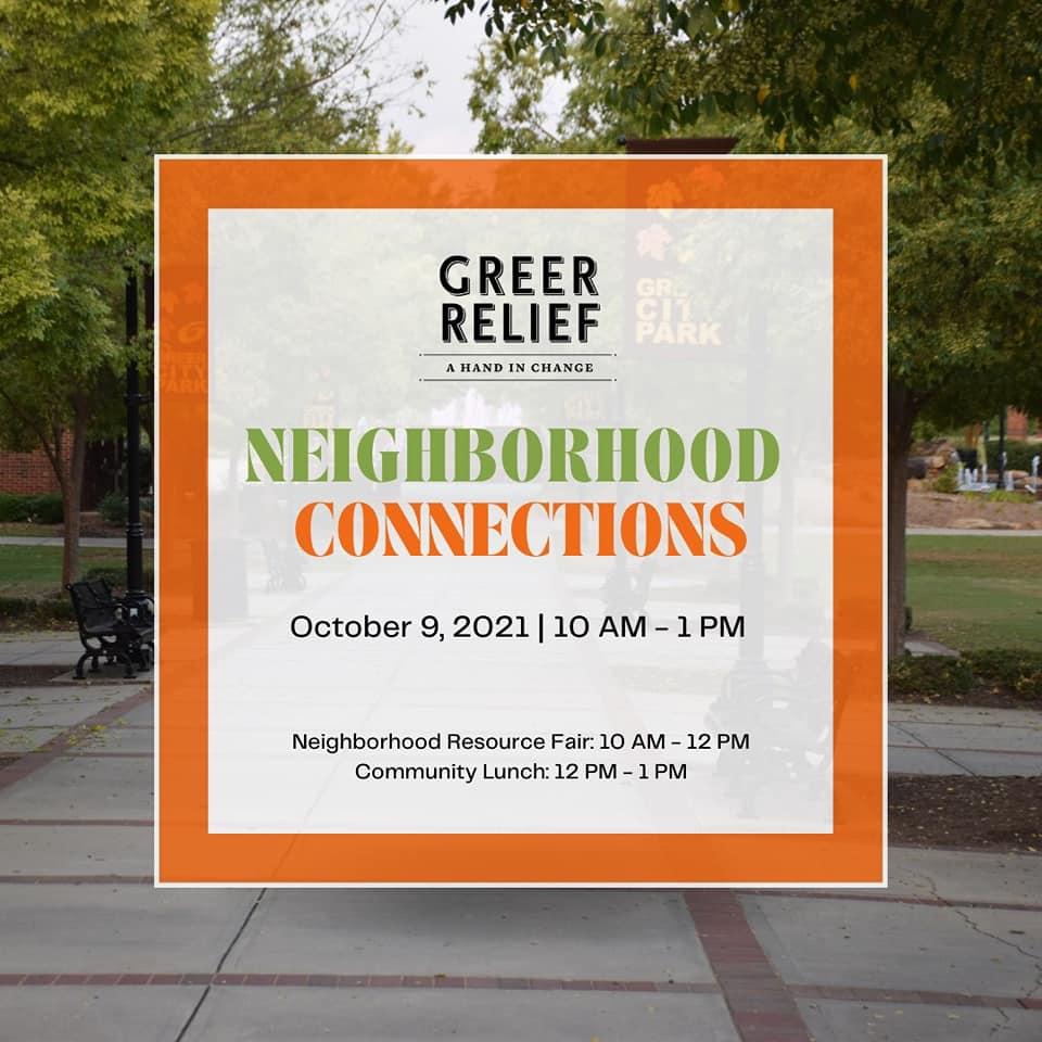 Greer Relief Saturday